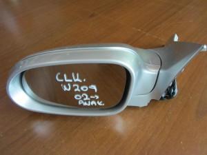 Mercedes Clk w209 02 ηλεκτρικός ανακλινόμενος καθρέπτης αριστερός ασημί