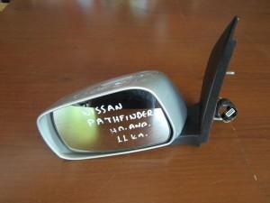 Nissan pathfinder 06 ηλεκτρικός ανακλινόμενος καθρέπτης αριστερός ασημί (11 καλώδια)