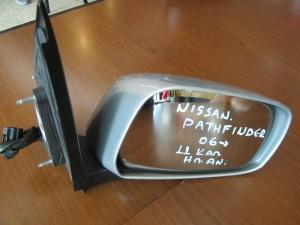 Nissan pathfinder 06 ηλεκτρικός ανακλινόμενος καθρέπτης δεξιός ασημί (11 καλώδια)