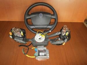 lancia musa 08 13 set airbag gkri skouro 300x225 Lancia Musa 2008 2012 σέτ airbag γκρί σκούρο