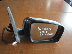 Nissan X-Trail 2008-2013 ηλεκτρικός ανακλινόμενος καθρέφτης δεξιός ασημί
