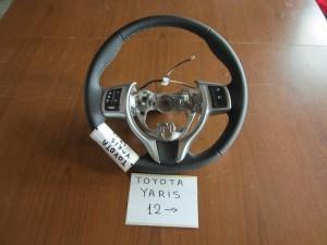 toyota yaris 2012 timoni volan 300x225 Toyota Yaris 2011 2014 τιμόνι βολάν