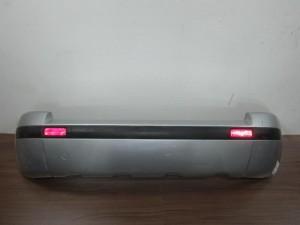Citroen C3 pluriel 03-10 πίσω προφυλακτήρας ασημί