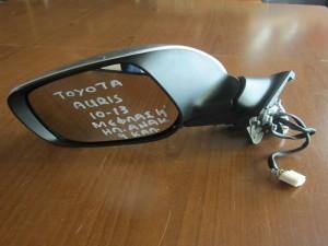 Toyota auris 10-13 ηλεκτρικός ανακλινόμενος καθρέφτης αριστερός ασημί (με φλάς-9 καλώδια)