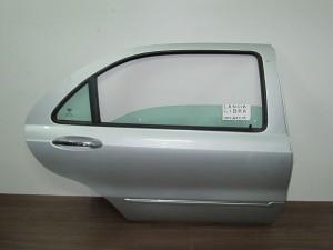 Lancia Lybra 1998-2005 4θυρο πίσω δεξιά πόρτα ασημί