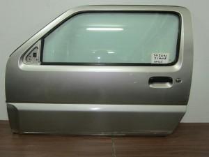 Suzuki Jimny 98- 2θυρο πόρτα αριστερή σκούρο ασημί