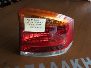 Opel vectra C 02-08 πίσω φανάρι δεξί πορτοκαλί φλάς