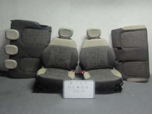 Fiat panda 4x4 2012- σετ καθίσματα