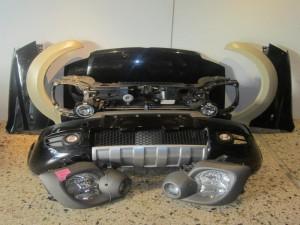Fiat panda cross 2003-212 μετώπη-μούρη εμπρός κομπλέ μαύρη