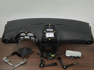 Opel corsa D 2011-2014 σετ airbag μαύρα