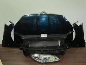 Skoda fabia 2007-2010 μούρη-μετώπη εμπρός κομπλέ μπλέ πετρόλ