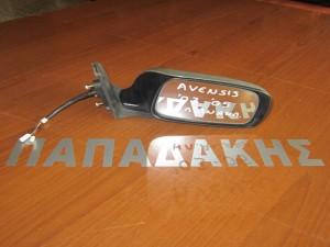 toyota avensis 2003 2006 ilektrikos anaklinomenos kathreftis dexios asimi 300x225 Toyota avensis 2003 2006 ηλεκτρικός ανακλινόμενος καθρέφτης δεξιός ασημί