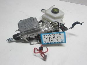 toyota yaris ivridiko 2014 sistima frenon sevrofreno 300x225 Toyota Yaris υβριδικό 2014 2017 σύστημα φρένων (σεβρόφρενο)