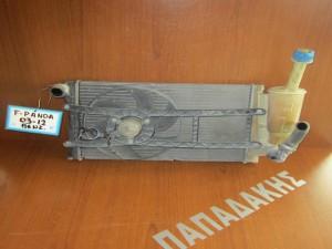 Fiat panda 2003-2012 ψυγείο νερού με βεντιλατέρ