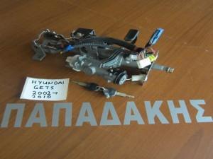 Hyundai getz 2002-2010 άξονας τιμονιού με διακόπτη μίζας *