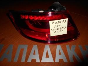 audi a3 sportback 2013 fanari opisthio aristero 1 300x225 Audi A3 Sportback 2013 2017 φανάρι οπίσθιο αριστερό led