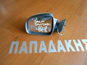 Dacia Sandero 2007-2012 Dacia Logan 2008-2012 ηλεκτρικός καθρέπτης αριστερός άσπρος
