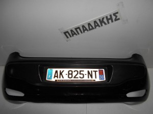 Fiat Grande Punto evo 2009-2015 προφυλακτήρας οπίσθιος μαύρος