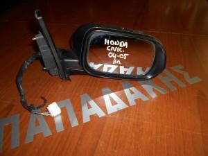 Honda Civic 2004-2005 L/B-H/B καθρέπτης δεξιός ηλεκτρικός ανάκλιση φλας γκρι