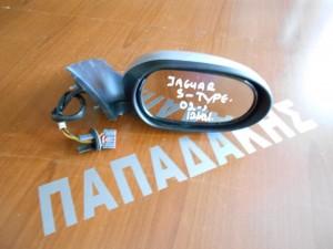 Jaguar S-type 2002-2008 ηλεκτρικός καθρέπτης δεξιός ανακλινόμενος 12 καλώδια ασημί