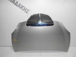 Lancia Y 2003-2011 καπό εμπρός ασημί