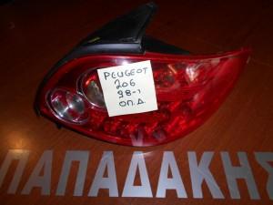 peugeot 206 1998 fanari opisthio dexi led 1 300x225 Peugeot 206 1998 2009 φανάρι οπίσθιο δεξί LED
