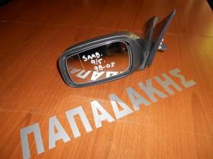 Saab 9-5 1998-2005 καθρέπτης αριστερός ηλεκτρικός γκρι