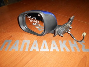 Suzuki Splash 2007--> ηλεκτρικός καθρέπτης αριστερός μπλε