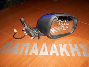 Suzuki Splash 2007--> ηλεκτρικός καθρέπτης δεξιός μπλε