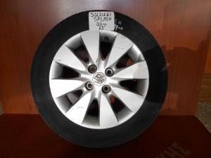 "Suzuki Splash 2008-2014 ζαντολάστιχα αλουμινίου 2άδα 185/60/15"""