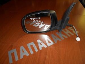 Toyota Rav 4 2006-2009 καθρέπτης αριστερός ηλεκτρικός ανάκλιση μαύρος