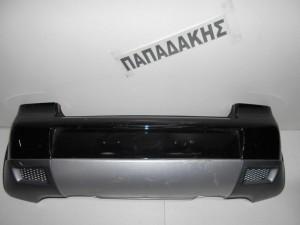VW Cross Polo 2005-2008 προφυλακτήρας οπίσθιος μαύρος