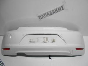 VW Scirocco 2008-2014 προφυλακτήρας οπίσθιος με αισθητήρα λευκός