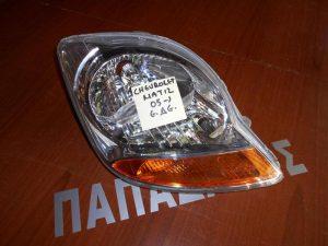 Chevrolet Matiz 2005- φανάρι εμπρός δεξί