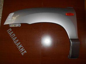 Hyundai Santa Fe 2000-2006 φτερό αριστερό εμπρός ασημί