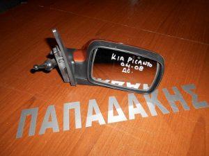 KIA Picanto 2004-2008 καθρέπτης δεξιός μηχανικός καφέ ανοιχτό