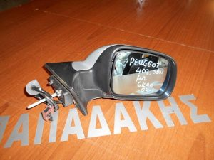 Peugeot 407 SDN 2004- καθρέπτης δεξιός ηλεκτρικός ασημί