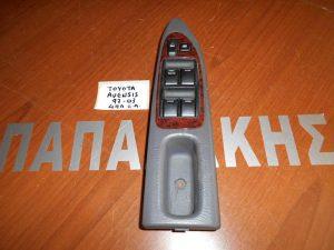 Toyota Avensis 1997-2003 διακόπτης παραθύρων αριστερός 4πλός