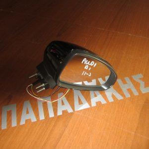 Audi A1 2011-2015 καθρέπτης δεξιός ηλεκτρικός 5 καλώδια μαύρος