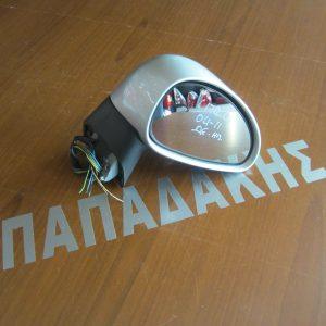 Citroen C4 2004-2011 καθρέπτης δεξιός ηλεκτρικός ασημί