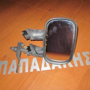 Fiat Doblo 2001-2005 καθρέπτης δεξιός μηχανικός χωρίς καπάκι
