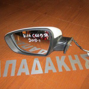 KIA Ceed 2013- 5θυρο καθρέπτης αριστερός ηλεκτρικός λευκός