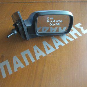 KIA Picanto 2004-2008 καθρέπτης δεξιός μηχανικός μπλε ανοιχτό