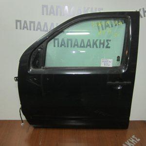 Nissan Navara D40 2005-2010 πόρτα εμπρός αριστερή ανθρακί