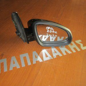 Opel Adam 2013- καθρέπτης δεξιός ηλεκτρικός μαύρος