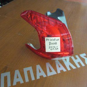 Peugeot 2008 2014- φανάρι οπίσθιο αριστερό