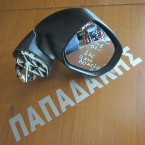 Peugeot 3008 2009-2016 καθρέπτης δεξιός ηλεκτρικός με φως ασφαλείας 11 καλώδια 2 φις ανθρακί
