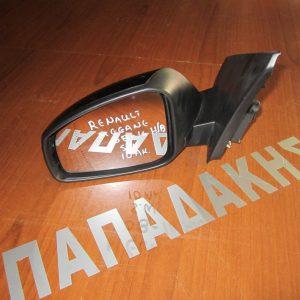 Renault Megane 2008-2014 H/B - S.W καθρέπτης αριστερός ηλεκτρικός 10 ακίδες μαύρος