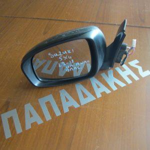 Suzuki Sx-4 2012-2013 καθρέπτης αριστερός ηλεκτρικός ανακλινόμενος με φλας γκρι