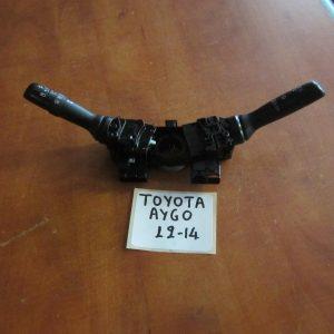 Toyota Aygo 2006-2012 (2012-2014) διακόπτης φώτων-φλας-καθαριστήρων